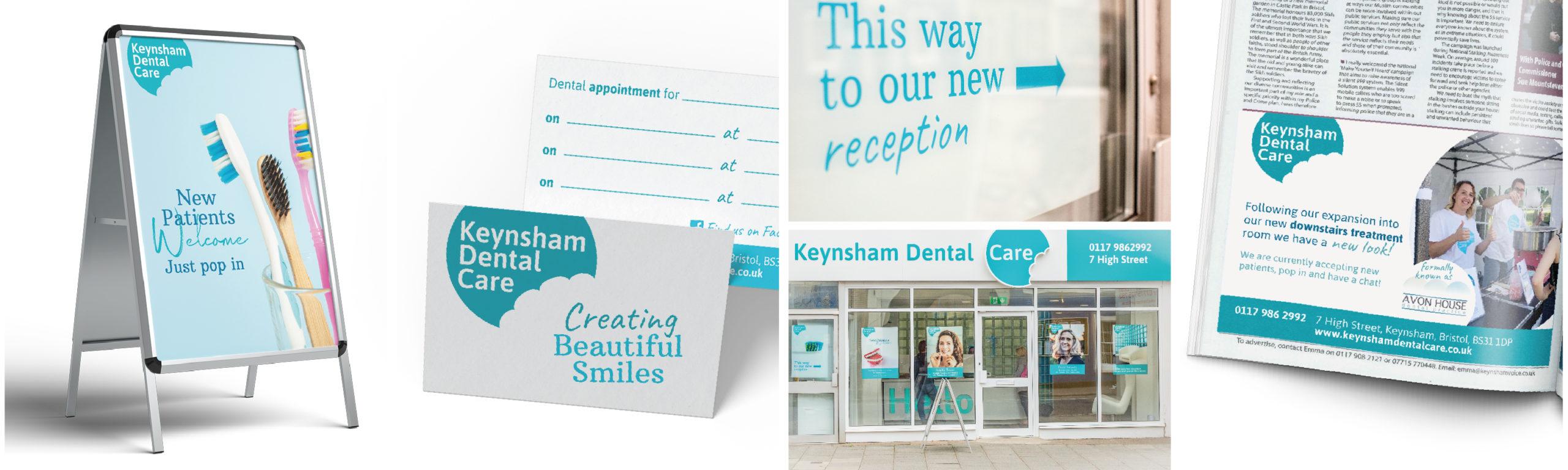 Keynsham Dental Practice, Header