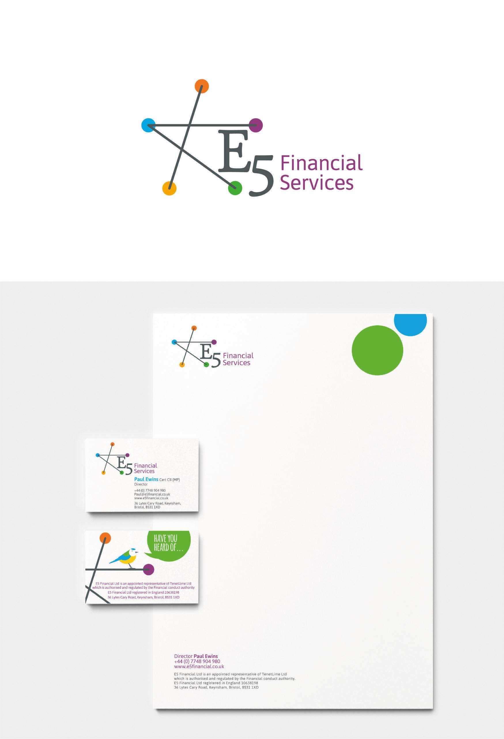 Branding for a Financial Advisor near Bath. Portfolio page